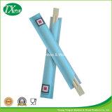 Palillos de bambú de los gemelos con la funda de papel