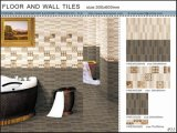 3D Vloer van Inkjet en de Ceramiektegel van de Muur (VWD36C602, 300X600mm)