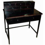 Tabella antica del metallo della mobilia di Indoor&Outdoor dello stagno