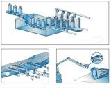 Un ugello d'aria piano di Windjet del ventilatore dell'acciaio inossidabile di disegno