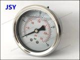 """2.5 """"グリセリンによって満たされるステンレス鋼の圧力計"""