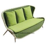 新しいデザイン普及したホテルの家具の藤の屋外のソファーの一定の庭のソファーの屋外のソファー