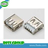 Conetor de cartão de SIM conetor Fbusba2-105 do USB do USB ao micro
