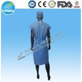 Wegwerf-pp. SMS Patienten-Kleid des heißen Verkaufs-