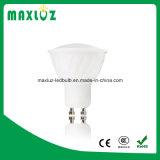 MAZORCA de la luz del punto de GU10 MR16 Gu5.3 LED con la cubierta de la PC