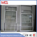 De aluminio escoger la ventana colgada colgada o doble