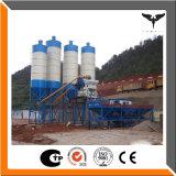 Tolva Hzs25 que introduce material planta de procesamiento por lotes por lotes concreta con el silo de cemento 50t