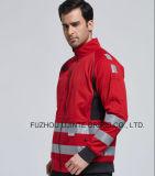 Куртка 2017 водоустойчивая Softshell с отражательным Workwear ленты