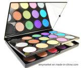La capa doble del color de la gama de colores 30 del ojo del artista de la reina del partido Shinny la sombra de ojo cosmética del color de la perla