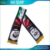 ファンスカーフ/フットボールのスカーフ/汚れのスカーフ/各国用のスカーフ/アラブ首長国連邦のスカーフ(J-NF19F10029)