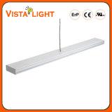 Lumière pendante linéaire en aluminium de l'extrusion 54W DEL pour des salles de réunion