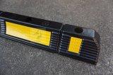 Alta qualidade todos os blocos de borracha pretos do estacionamento do freio do estacionamento do bujão 600*120*100mm da roda do tamanho (volid)