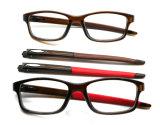 Bâtis optiques en gros à la mode de la lunetterie Tr90 de mode