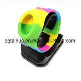 Wristband personalizado do silicone do logotipo com Thb-039