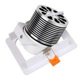 as iluminações do diodo emissor de luz Downlight da lâmpada AC85-265V do teto da alta qualidade da ESPIGA 10W iluminam-se para baixo