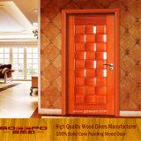 Конструкции двери спальни твердого грецкого ореха конструкции новизны деревянные (GSP2-034)