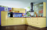 Crema moderna Gloss Mobiliario de cocina / Gabinetes