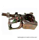 Type coréen double coupleur en acier appuyé d'accessoires d'échafaudage
