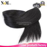 Extensão natural ligada pura Nano do cabelo da queratina da aleta da extensão do cabelo humano do cabelo 100% do anel