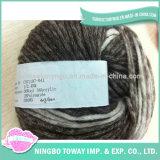 Cotone che lavora a mano i filati di lana di immaginazione della sciarpa di inverno -9