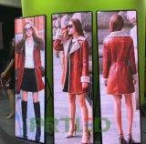Ultra delgado P2.5 LED a todo color de la pantalla de visualización del cartel para el Centro Comercial / ventana