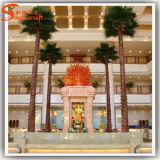 Пальма Вашингтон искусственная для украшения мола площади гостиницы