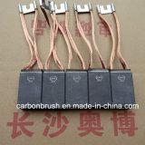 Fornecedor E104 da escova de carbono da grafita do motor da indústria eletro