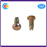 Acier au carbone 4.8 / 8.8 / 10.9 Attaches personnalisées à lame / épingle non standard Truss Head screws Screw