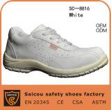 Белое составное изготовление ботинка Sc-8816 безопасности пальца ноги
