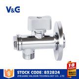 2 valvola di angolo d'ottone motorizzata dell'acqua di modo NSF61 Ss304 (VG-E12521)