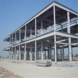 Costruzione chiara moderna della fabbrica del gruppo di lavoro della struttura d'acciaio con il migliore disegno