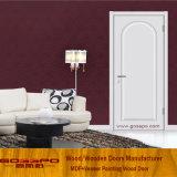 단순한 설계 백색 페인트 MDF 간 룸 문 (GSP8-034)