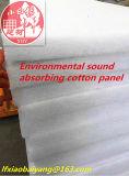 Одеяло белого войлока панели шерстей волокна акустического акустического акустическое