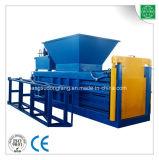 Prensa semiautomática hidráulica del heno de la paja que recicla la máquina