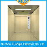 강력한 전송 능력을%s 가진 수용량 2000kg 기계 Roomless 운임 상품 엘리베이터