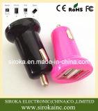 Оптовый заряжатель автомобиля мобильного телефона с 2 портами USB