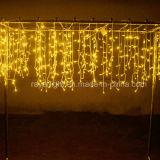 Calle luz LED al aire libre de lujo de la luz del carámbano con largo a la medida