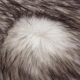 アクリルMacの毛皮の偽造品の毛皮ののどの毛皮Frの毛皮の長いパイル生地の毛皮