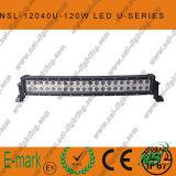 21.5 lumière de véhicule du CREE DEL de pouce 120W 4X4, barre incurvée d'éclairage LED outre de route, voûte automatique d'éclairage LED dépliée