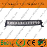 21.5 luz del coche del CREE LED de la pulgada 120W 4X4, barra ligera curvada del LED del camino, arco ligero auto del LED doblado