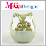 電気めっきの金のかわいいユニコーンの陶磁器の銭箱