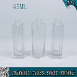 45ml化粧品のための正方形のガラス香水瓶