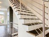 8mmの固体棒棒が付いているステアケースの手すりのための高品質の屋内/屋外のステンレス鋼316階段柵