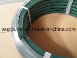 La correa del final de la superficie del color verde para transporta, correa estupenda del apretón V del poliuretano