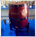 Barillet de bière en bois utilisé par vente en gros de baril de vin de dessus de Tableau d'usine petit