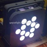 Luz ULTRAVIOLETA popular de la IGUALDAD del teléfono celular 12PCS 15W Rgbaw LED