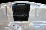 Nuevo diseño 2017 de Sunrans con la tina caliente del BALNEARIO al aire libre de acrílico del balboa para 5 personas