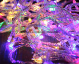 Da estrela ao ar livre da luz do feriado do jardim do diodo emissor de luz luzes feericamente