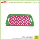 Bandejas plásticas de la melamina de la categoría alimenticia del uso del restaurante