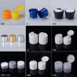 Kosmetische Flasche bereiten Plastikflaschenkapseln, Shampoo-Schutzkappe auf